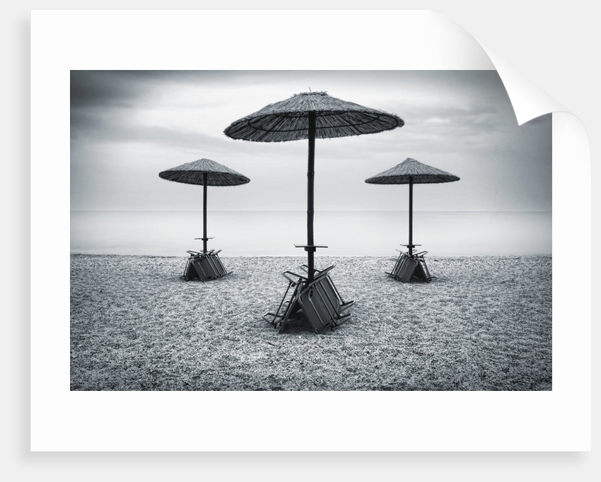 Beach Umbrellas by Eugenia Kyriakopoulou