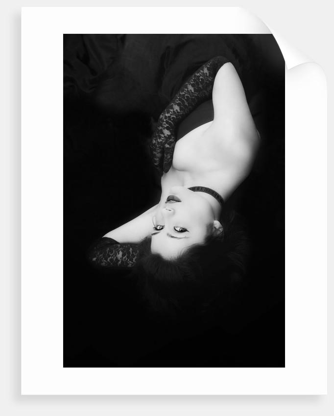 Black Lace I by Eugenia Kyriakopoulou