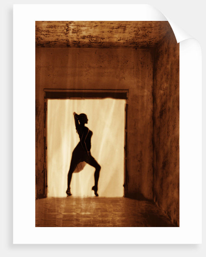 Dancer at the window II by Eugenia Kyriakopoulou