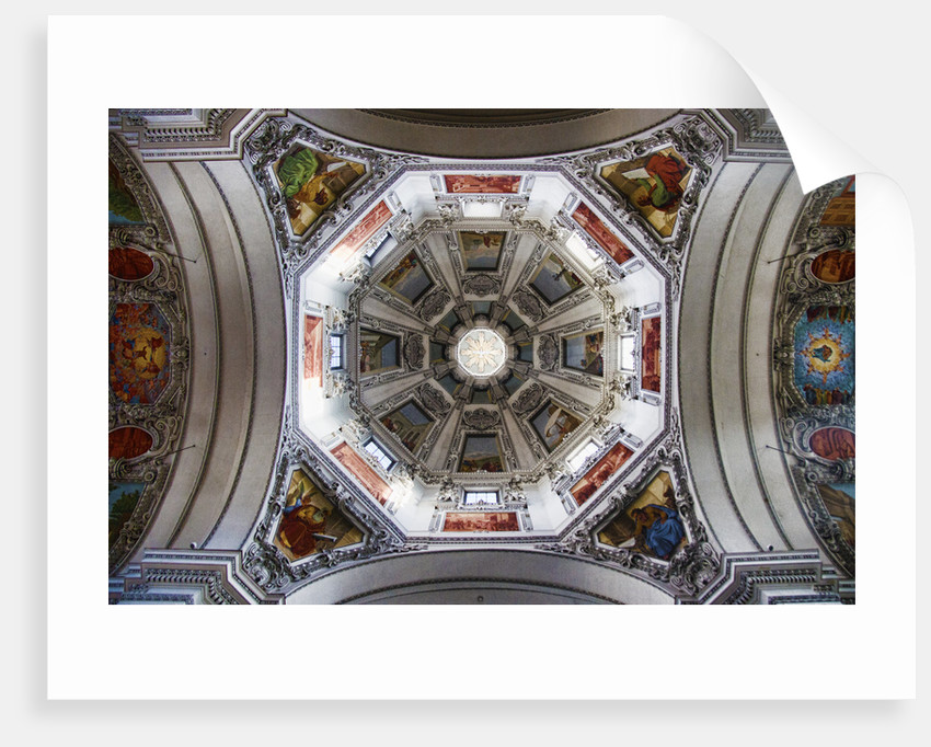 Church Dome by Eugenia Kyriakopoulou