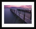 Cloudy sunset over the lake by Ricardo Demurez