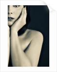 Half of woman face #2 by Ricardo Demurez