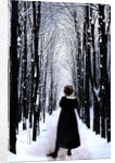 Girl & winter by Gary Waters