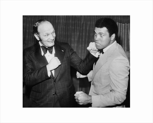 Boxers Henry Cooper and Muhammad Ali by Associated Newspapers