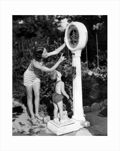 Seaside weighing machine by Associated Newspapers