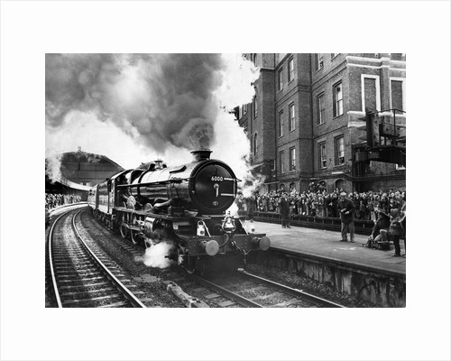 Steam train at Paddington by Associated Newspapers