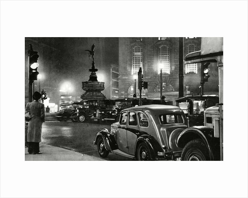 Piccadilly Circus 1937 by Associated Newspapers