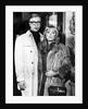 Michael Caine and Elizabeth Ercy at the premiere of Alfie by Associated Newspapers