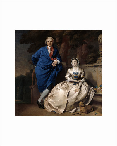 Portrait of George Michael Moser and his Wife Mary by Carl Marcus Tuscher