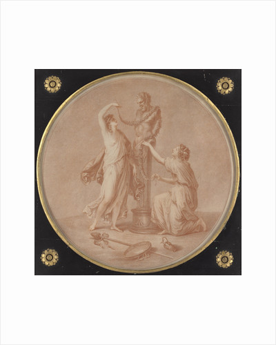 Dormio innocuus: vix impune expergefeoeris, A Sacrifice to Pan by William Wynne Ryland