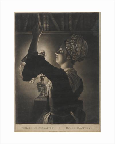 Female Lucubration by Philip Dawe