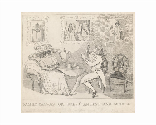Family Canvas, or Dress's Antient and Modern by George Townly Stubbs