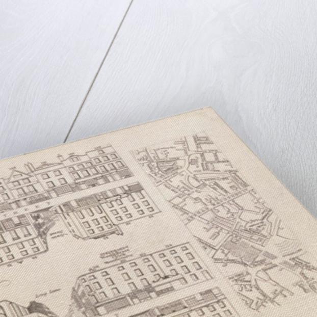 Plan of Aldersgate Street, London by