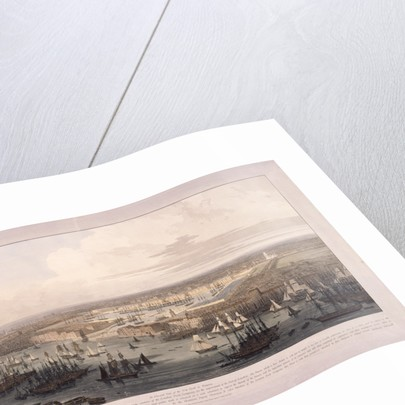 London Docks by William Daniell
