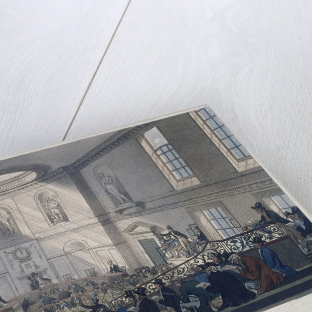East India House, London by Augustus Charles Pugin