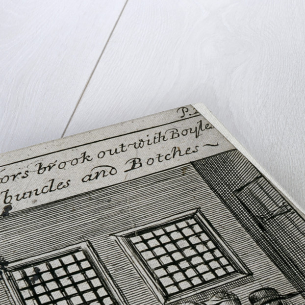 Fleet Prison, London by Anonymous