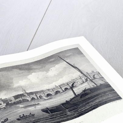London Bridge (old), London by J Dadley