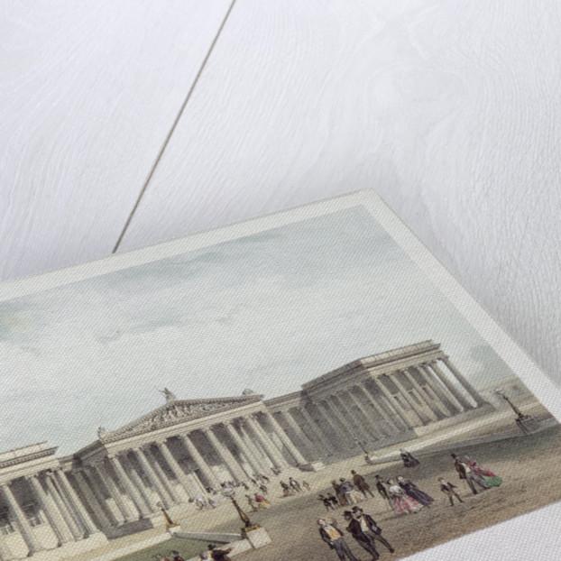 British Museum, Holborn, London by Jules Louis Arnout