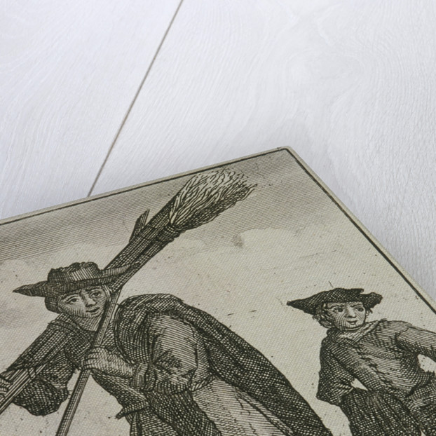 Chimney Sweep, Cries of London, (c1688?) by