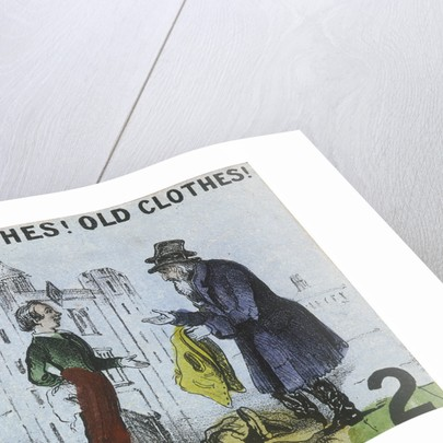 Old Clothes! Old Clothes!, Cries of London by
