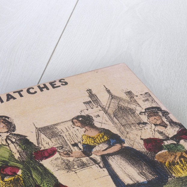 Matches, Cries of London by TH Jones