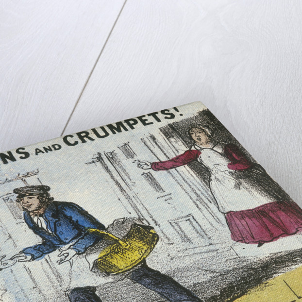 Muffins and Crumpets!, Cries of London by TH Jones