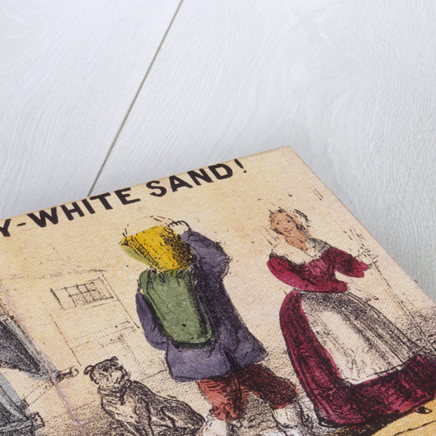 Lilly-white Sand!, Cries of London by TH Jones
