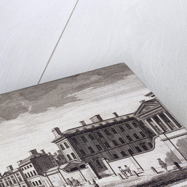 Admiralty, Whitehall, London by Laurie & Whittle