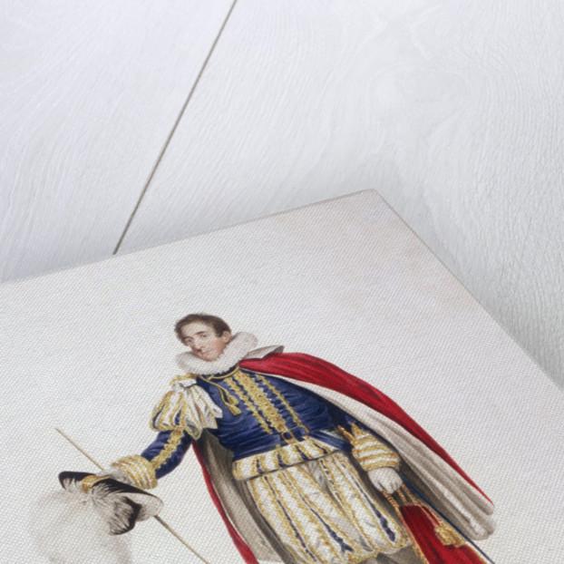 Treasurer in ceremonial costume by Edward Scriven