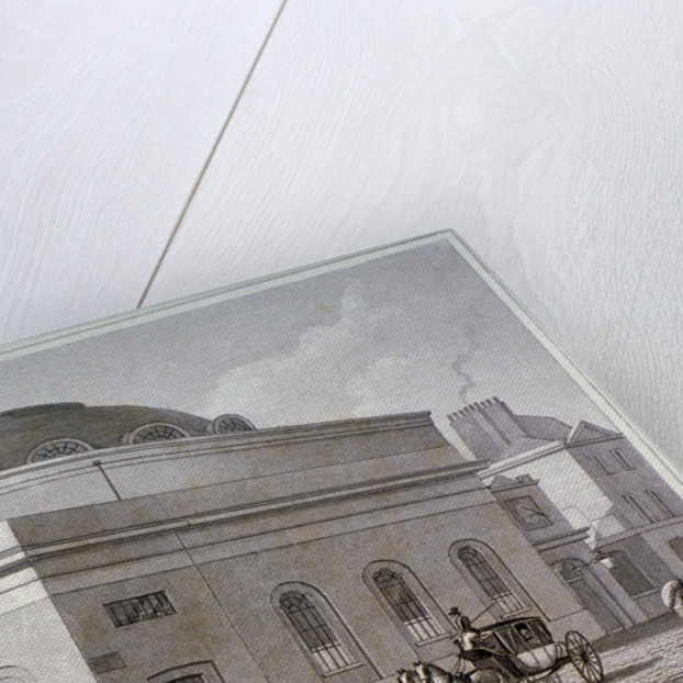 Albion Chapel, London by Thomas Hosmer Shepherd