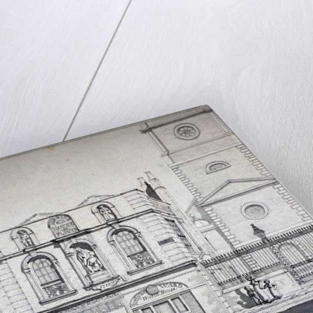 Aldgate House, Aldgate High Street, London by Robert Blemmell Schnebbelie