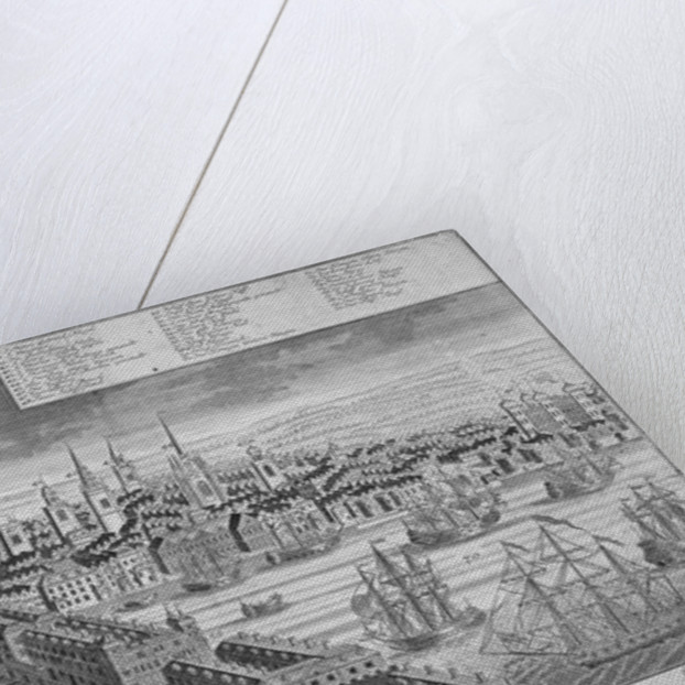 The City of London and the River Thames by Anonymous