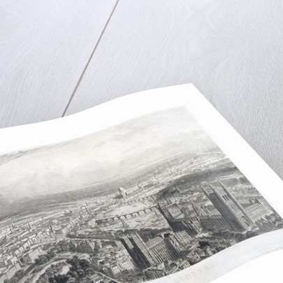 Aerial view of London by A Appert
