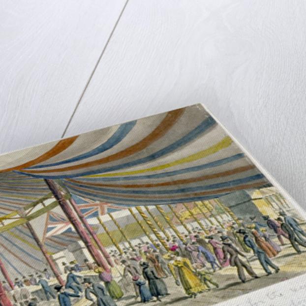 Royal opening of London Bridge by JH Fairholt