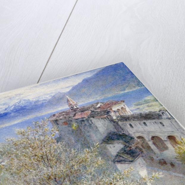 Locarno, Lake Maggiore by Albert Goodwin
