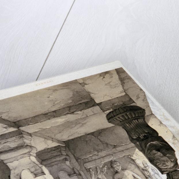 Kannari, Interior of a Small Vihara by