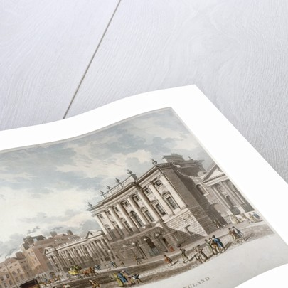 The Bank of England, City of London by Daniel Havell