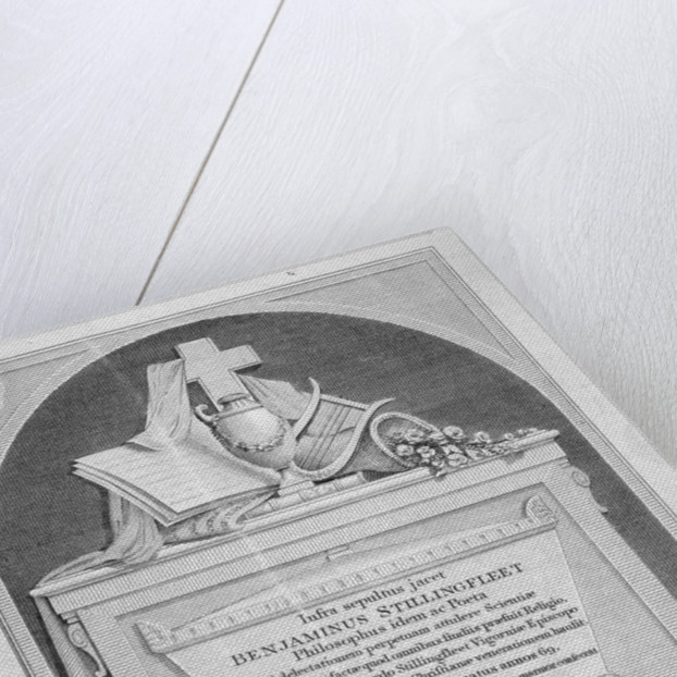Monument in St James's Church, Piccadilly, London by