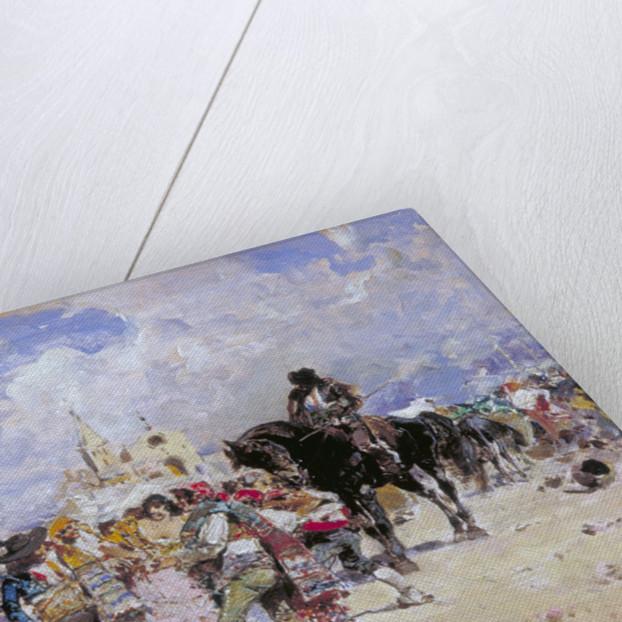 The Market Place, Granada by Baldomer Galofre Gimenez