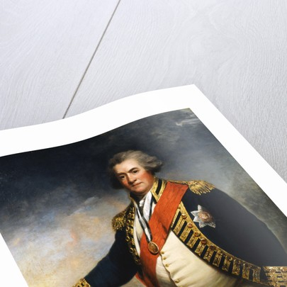 Admiral Lord Duncan, 18th century British naval commander by