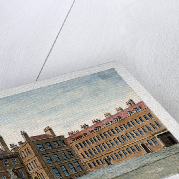 View of New Inn on Wych Street,Westminster, London by Valentine Davis
