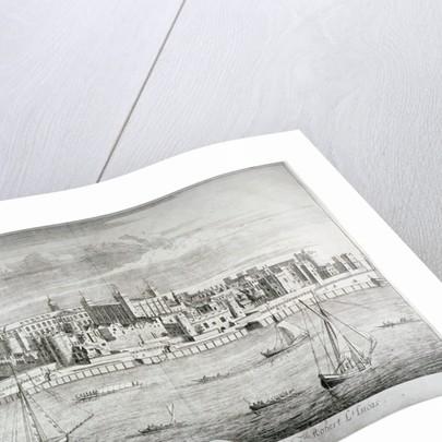 Tower of London by Johannes Kip