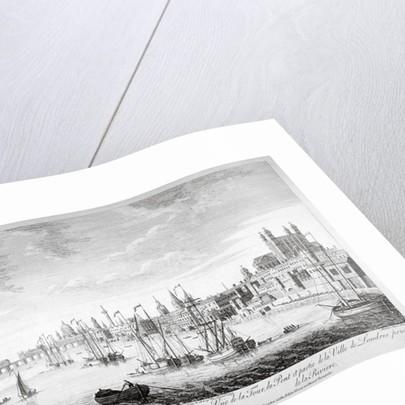 Tower of London by Johann Sebastian Muller