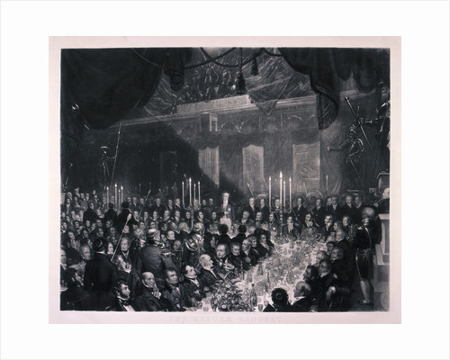 Reform Banquet at the Guildhall, London by Anonymous