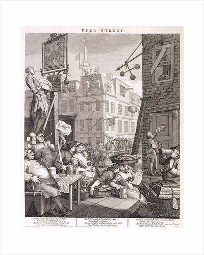 Beer Street by William Hogarth