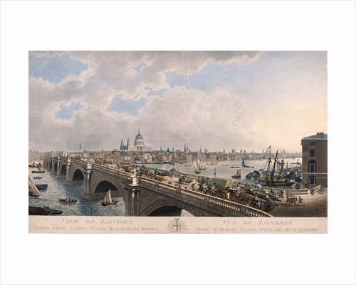 City of London from the South by Joseph Constantine Stadler