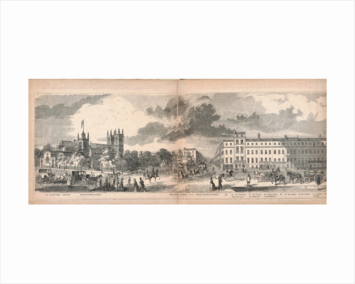 Panorama of London by Anonymous