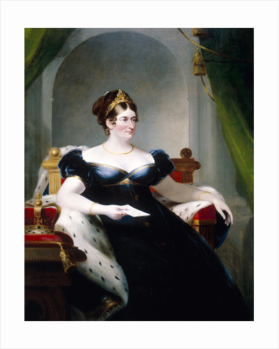 Caroline of Brunswick, Consort of George IV by James Lonsdale