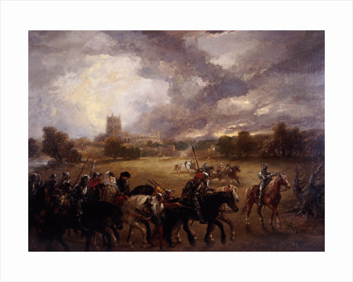 Margaret of Anjou taken prisoner after the Battle of Tewkesbury by Sir John Gilbert