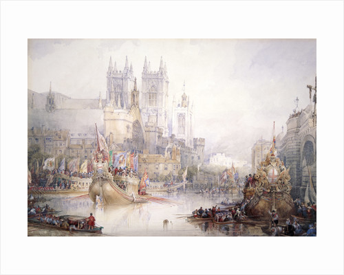 The Lord Mayor's Show at Westminster by